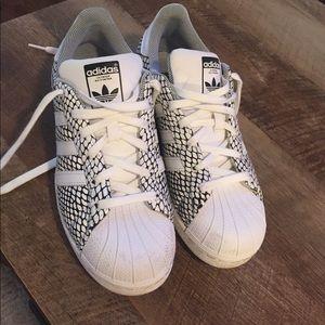 Shell toed adidas